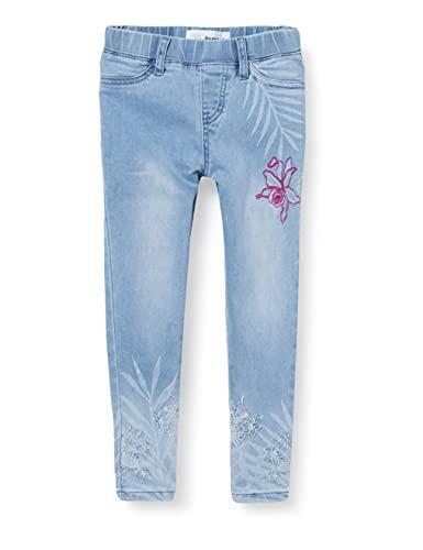 Desigual Denim_Opa Pantalones Casuales, Blue, 13/14 para Niñas