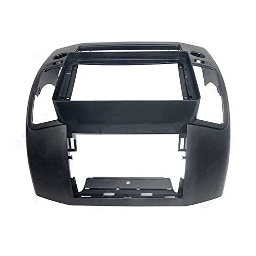 Fascia Radio de automóvil Fascia Fit para NISSAN NAVARA 2006-2012 Montaje de plástico de plástico estéreo automático Montaje de placa frontal de placa frontal Kit de marco Automotive interior parts