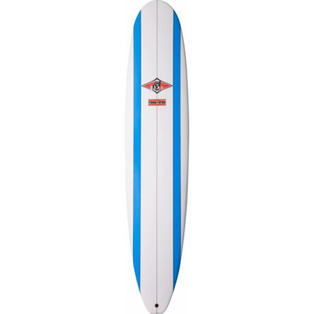 SURFTECH Tabla de Surf 9 '0&apos Bear Performance Long tlpc Blue Stripe, Blanco