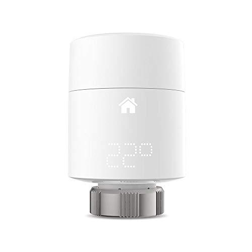 tado° intelligenter Heizkörperthermostat (vertikale Montage) – Erweiterung zur Mehrraumsteuerung, intelligente Heizungssteuerung, einfache DIY-Installation