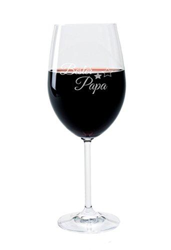 FORYOU24 Weinglas Motiv Bester Papa