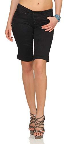 Buena Vista Damen Shorts Malibu schwarz (15) S
