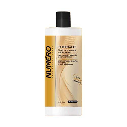 NUMERO Restaurierendes Shampoo Hafer, 1000 ml