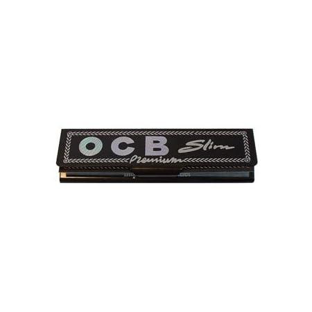 OCB Black Premium Rolling Papers King Size Slim 32 Sheet//Booklet 1//10//20//50 pcs
