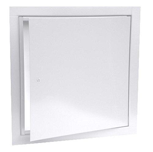 JL Industries 9TM 18 x 18 Flush Universal Access Door Panel, WHITE