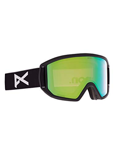 Anon Herren Relapse Snowboard Brille, Black/Perceive Variable Green