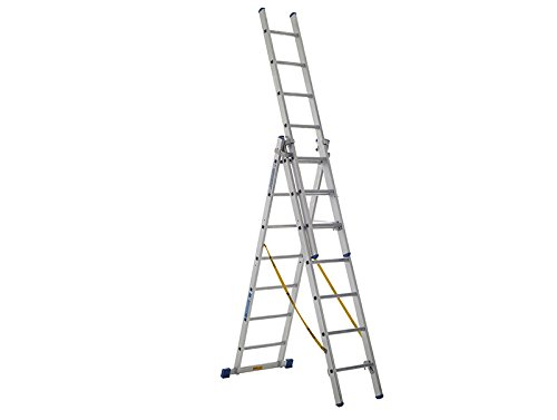 ZARGES Skymaster Trade ladder 3-delig 3 x 12 sporten zar40230