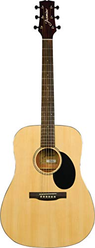 Jasmine 6 String Acoustic Guitar, Right Handed, Natural...
