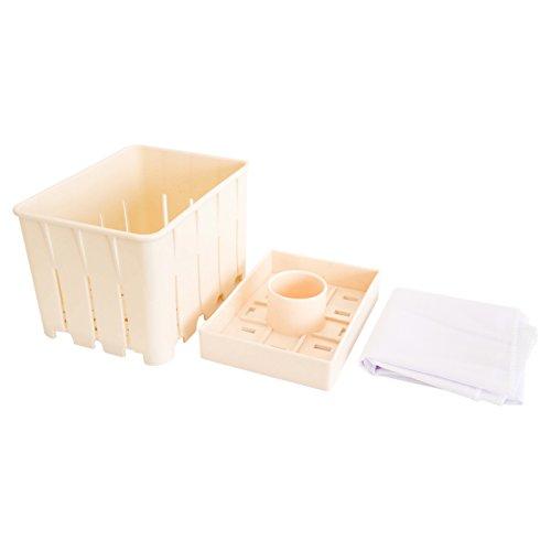 VASNER Tofu Box, Presse, Zubehör für Entsafter Juica schwarz, weiß, Slow Juicer, Touch-Bedienung, Edelstahl, silber, BPA-frei, Entsafter elektrisch, Saftpresse, Saftmaschine
