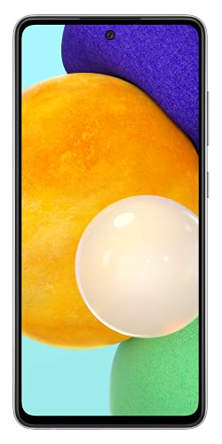 Samsung Galaxy A52 5G Smartphone, Display Infinity-O FHD+ da 6,5 pollici, 6GB RAM e 128GB di memoria interna espandibile, Batteria 4.500 mAh e Ricarica Ultra-Rapida Black Vodafone [Versione Italiana]