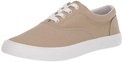 Amazon Essentials Men's Casual Lace Up Sneaker, Chino, 10 D US