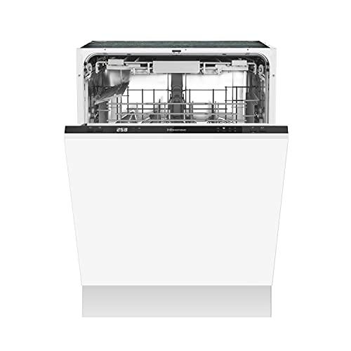 Hisense HV603D40 Geschirrspüler/ vollintegriert/ 60cm/ 14 Maßgedecke/ Besteckschublade/ vollständiger Überlaufschutz