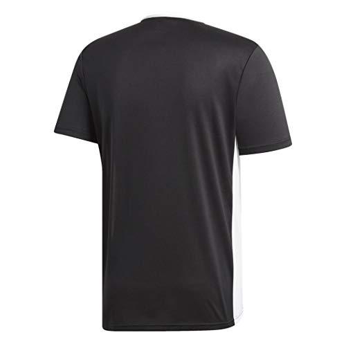adidas Entrada 18 JSY T-Shirt, Hombre, Black/White, XL