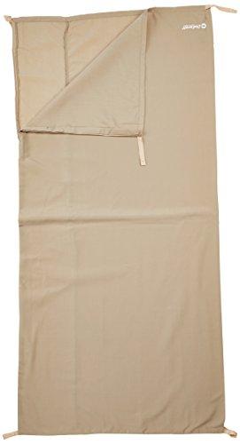 Outwell Schlafsack-Innenbezug Baumwoll-Liner-Steppdecke (Einzel) - Extensor para Saco de Dormir, Color Beige, Talla Única