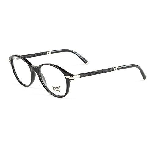 Montblanc Optical Frame Mb0400 001 50 Monturas de gafas, Negro (Schwarz), Unisex Adulto