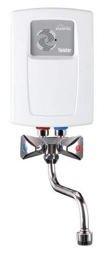 Kospel EPS2 Twister 5.5 kW Calentador de Agua Instantaneo con Grifo Mezclador, 230V