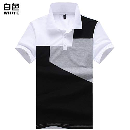 Willlly poloshirt voor heren, zomer, modieus, casual, chic blok, korte mouwen, poloshirt, basic, top, casual daily, uitgaan, slim fit, revers, sport, poloshirts