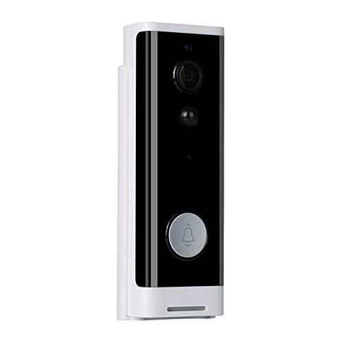 OWSOO 1080P Timbre Video WiFi, Soporta Control de App Tuya/SmartLife, Compatible con Alexa Echo Show 2 y Google Home, Detector de Movimiento, Impermeable, Grabación de Video, Vision Nocturna
