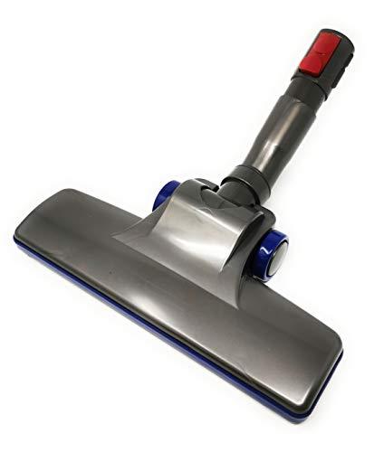 Kniwelshop Cepillo compacto con tiras deslizantes compatible con aspiradoras Dyson (con adaptador V7, V8, V10, V11, V15)