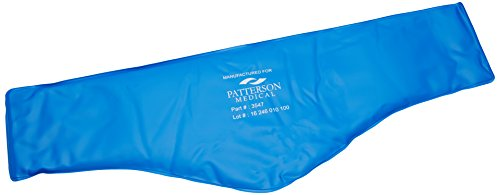 """Sammons Preston-54182 Performa Neck Contour Cold Pac, Reusable Flexible Ice Pack for Neck Pain Relief, Headaches, Migraines, Refreezable Coldpac for Cryotherapy, Non Latex, Neck Contour 23"""" Long"""