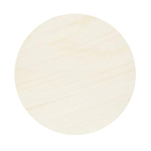 Sperrholz Zuschnitte - Scheiben - Durchmesser auswählbar - Pappel 3mm, Durchmesser:Durchmesser 40 cm