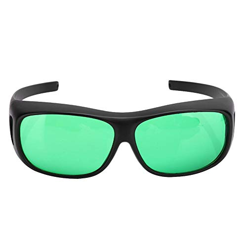 DAUERHAFT Innenschutzgläser wachsen Brillenblöcke Alle UVA- und UVB-Strahlen Hydroponischer Augenschutz für Zeltgewächshaus Hydroponik Pflanzenlicht Augensicher