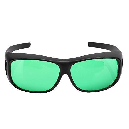 DAUERHAFT Grow Goggles Gafas de polarización UV Bloquea Todos los Rayos UVA y UVB, para Tiendas de campaña, Invernadero, hidropónico, Planta, luz, Seguro para los Ojos ⭐