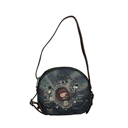 Anekke   Original bolso circular Iceland   Moderno, Casual y a la Moda   Para Mujeres   Ideal para el Día a Día u Ocasiones Especiales