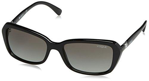 Vogue Eyewear 0VO2964SB W44/11 55 Occhiali da Sole, Nero (Black/Gradient), Donna