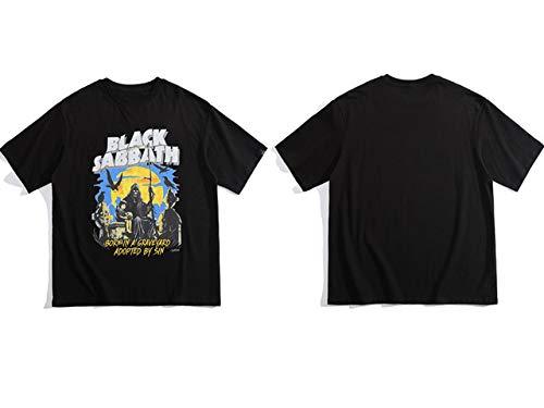 GVDFSEYL bedrukte T-shirts streetwear hipster hip hop casual grote T-shirts overhemden mannen tops