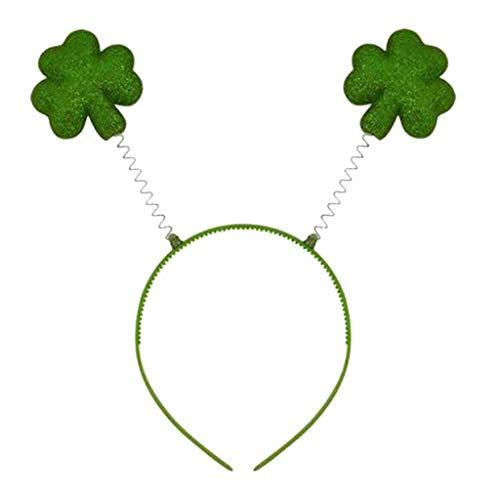 YWLINK Klassisch St. Patrick'S Day GrüN Irischer Erwachsener Stirnband Festival Beliebte Stirnband GrüN Kopfbedeckung