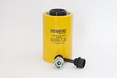 HYDRAFORE Einzelwirkender Hohlzylinder (20 Ton, 50 mm)