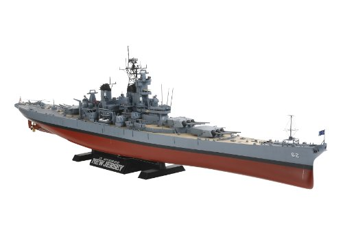 Tamiya Models US Battleship New Jersey BB-62 Model Kit