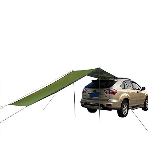 HSBZLH Camping Tent Tarp, Shelter Beach Tienda Umbrella, Automóvil Techo de la azotea Tabla de la Lluvia Sun Sun Shade Adecuado para la Pesca de Picnic de Camping al Aire Libre