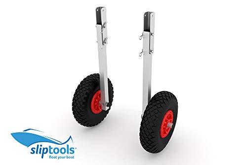 sliptools ALU Slipräder L-400, Räder-Bereifung: luftbereift, Räder-Parkposition: zusätzlich flach vor Spiegel