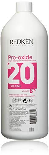 Redken Pro-oxide Cream Developer - 20 Volume 6% By for Unisex - 33.8 Ounce Cream Developer, 33.8 Ounce