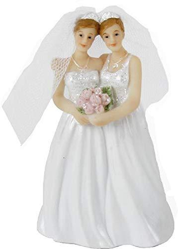 Home Collection Accesorios Fiesta Boda Estatua Decorativa XL para Tartas Pareja Mujeres...