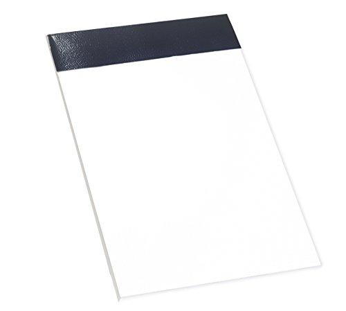 Enri 100103263 - Pack de 10 blocs de notas grapados sin tapa, A7