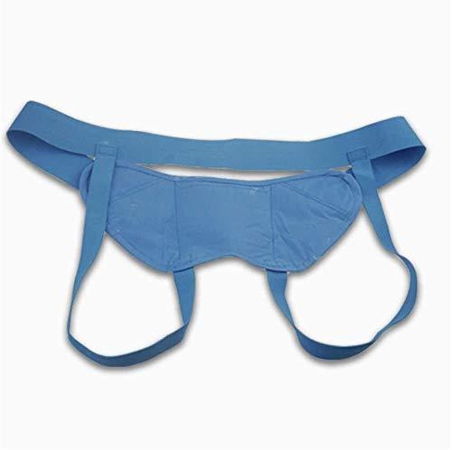 KEKEYANG Banda de la Hernia Adulto inguinal Hernia Cinturón for Hombres y Mujeres, cirugía inguinal Recuperación Soporte braguero, Ligamento inguinal para la Hernia. (Size : S)