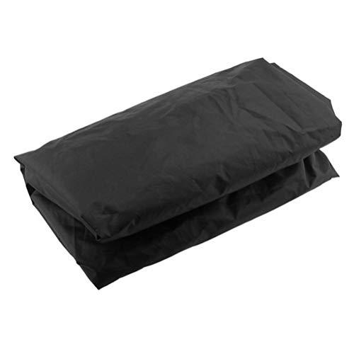 LIOOBO Tischtennis Abdeckung wasserdicht staubdicht ping Pong Tisch Abdeckung für innen und außen 165x70x185cm (schwarz)