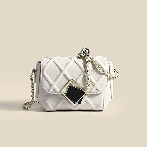 Bolso de mensajero de hombro de las mujeres bolso de moda rombo bolso de verano