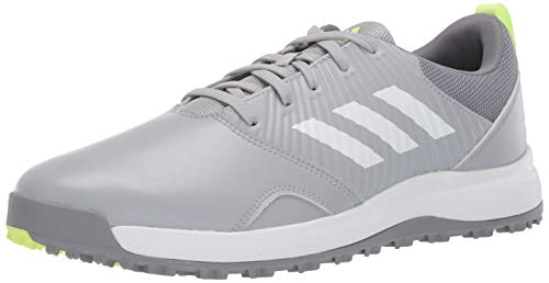 adidas Men's CP Traxion SL Golf Shoe, Clear Onix/FTWR White/Grey, 11 M US