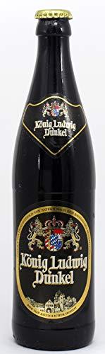 Bierkerze König Ludwig Dunkel 0,5 l - 2025 - Ein bayerisches Bier Geschenk