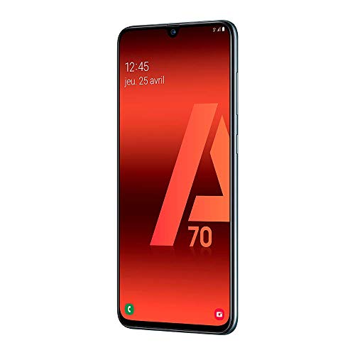 Samsung Galaxy A70 - Smartphone 4G (6,7'' - 128GO - 6 GO RAM) - Noir - Version Européenne