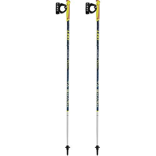 Leki Bastoncini Trail Running Micro Trail Ta, Blu, 125cm