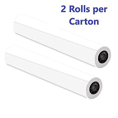"Alliance CAD Paper Rolls, 24"" x 150', 92 Bright, Ink Jet Bond"