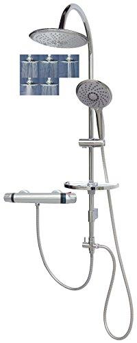 Ducha Set de ducha con variable con soportes mpr10Termostato