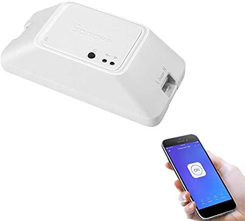 LEOZIE Basic R3 WIFI Smart Switch Interruptor de Luz Inalámbrico Inteligente Compatible con Alexa Google Home Nest, Módulo de Bricolaje Universal para Solucion
