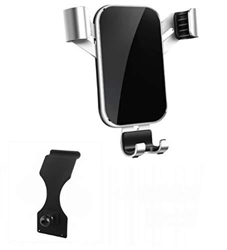 FANGSHUILIN Teléfono móvil titular en forma for el Mercedes-Benz Clase E W213 2017 2018 2019 Salida de aire Soporte de montaje GPS soporte for teléfono Clip Stand en coche ( Color Name : Silver )