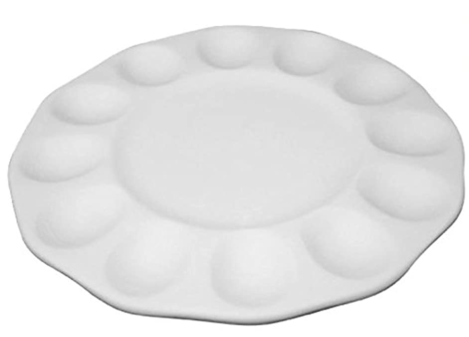 Round Deviled Egg Tray - Fusible Glass Egg Tray Slumping Mold